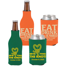 Zippered Bottle & Can Koozie Sets