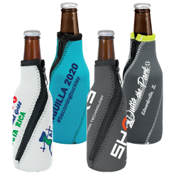Neoprene Spiral Bottle Koozie - High Quality Neoprene