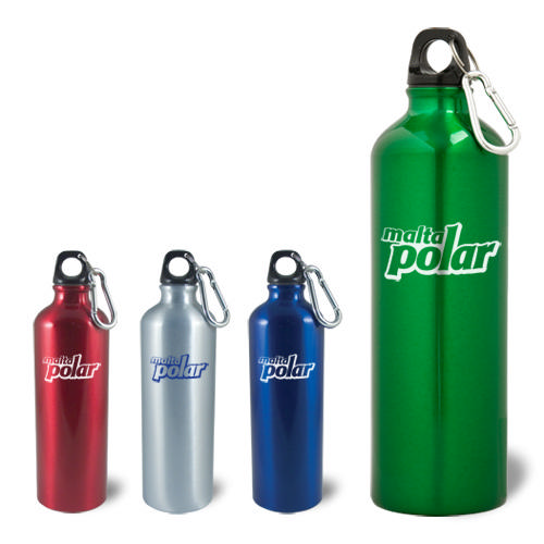 Aluminum Bottle Climber w/ Clip - 25 oz.