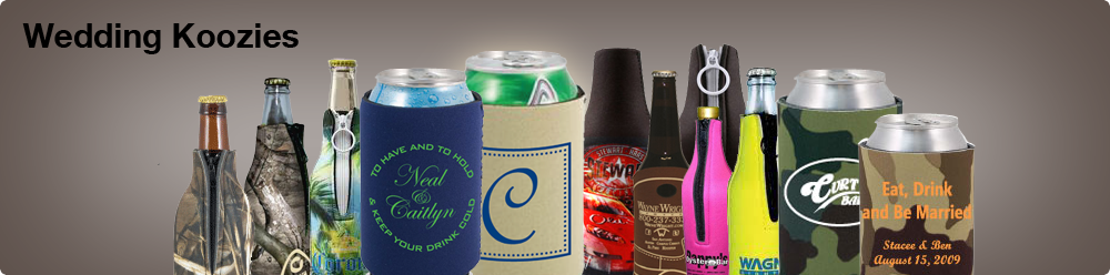 wedding koozies header