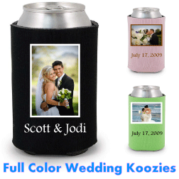 Full Color Photo\Logo Koozies