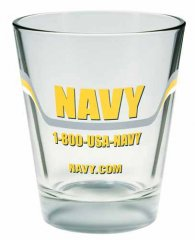 Imprinted Shot Glass - 1.5 oz