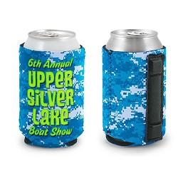 Magnetic Neoprene Can Cooler w/ Full Color