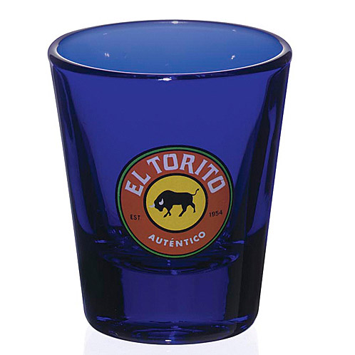 Cobalt Shot Glass - 1-1/2 oz.