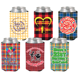 Plaid Coolies - 6 Designs