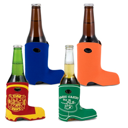 Bottle Boot Coolies - Cowboy, Fireman Koozies