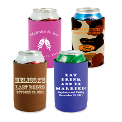 Neoprene Can Cooler - w/Bottom