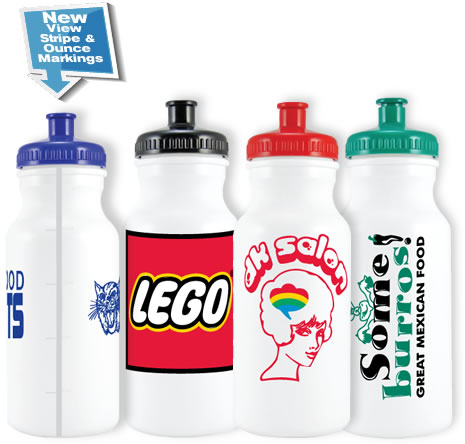 Standard Bike Water Bottle - 20 oz.