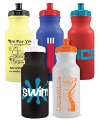 Value Colored Water Bottle - 20 oz.