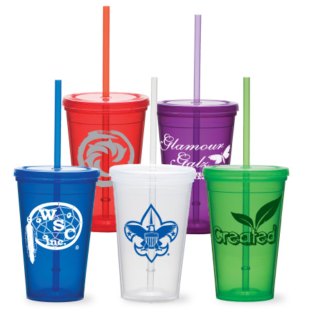 16oz Double Wall Economy Tumbler