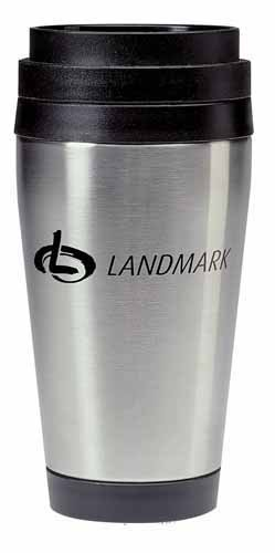 16 oz Stainless Steel Travel Tumbler