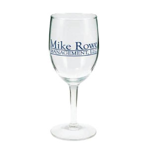 10 oz Wine Glass - Imprinted