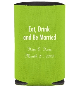 Collapsible Koozie Can Kooler - Clip Art of Choice
