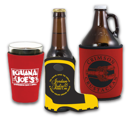 Cowboy And Firefighter Boot Koozies For Sale
